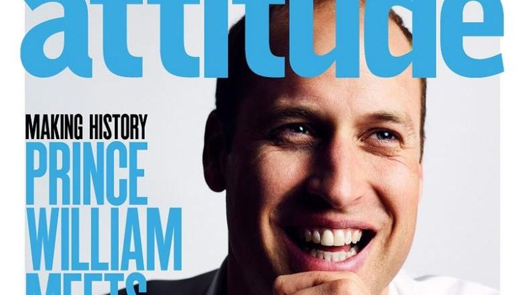 Wajah Pangeran William Jadi Sampul Majalah Gay Inggris