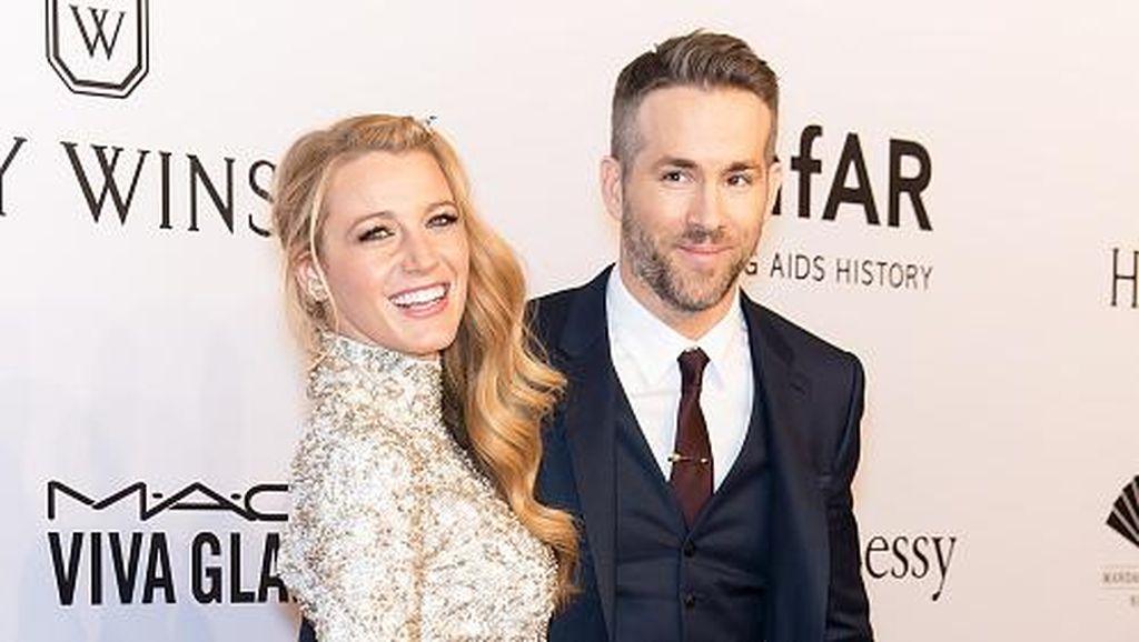 Selamat! Ryan Reynolds dan Blake Lively Dikaruniai Anak Kedua