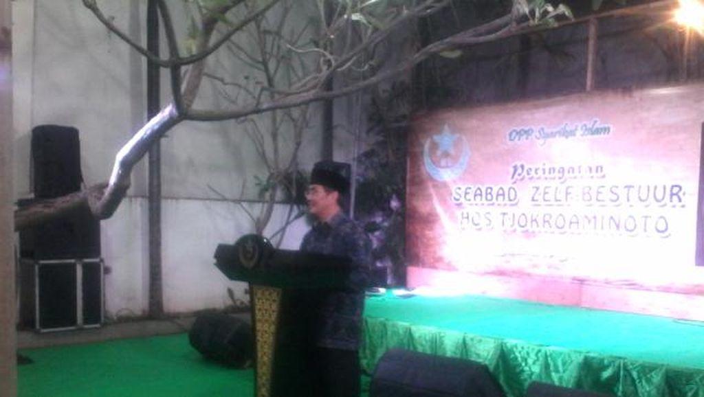 Syarikat Islam Peringati Seabad Pidato Zelfbestuur HOS Tjokroaminoto