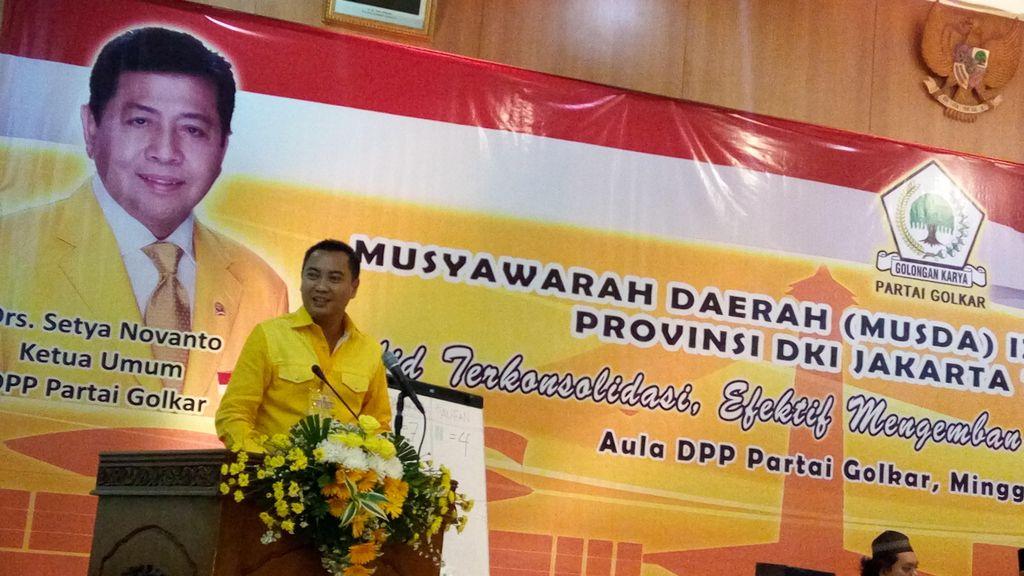 Golkar Sudah Ganti Separuh Mesin Partai di Jakarta untuk Ahok