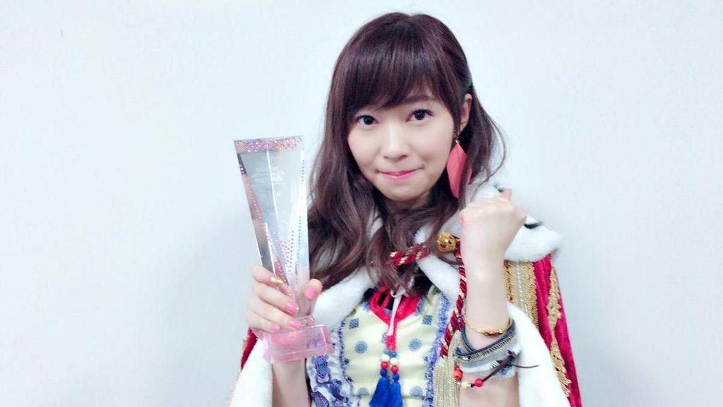 Sashihara Rino Puncaki Hasil Akhir Pemilu AKB48 2016