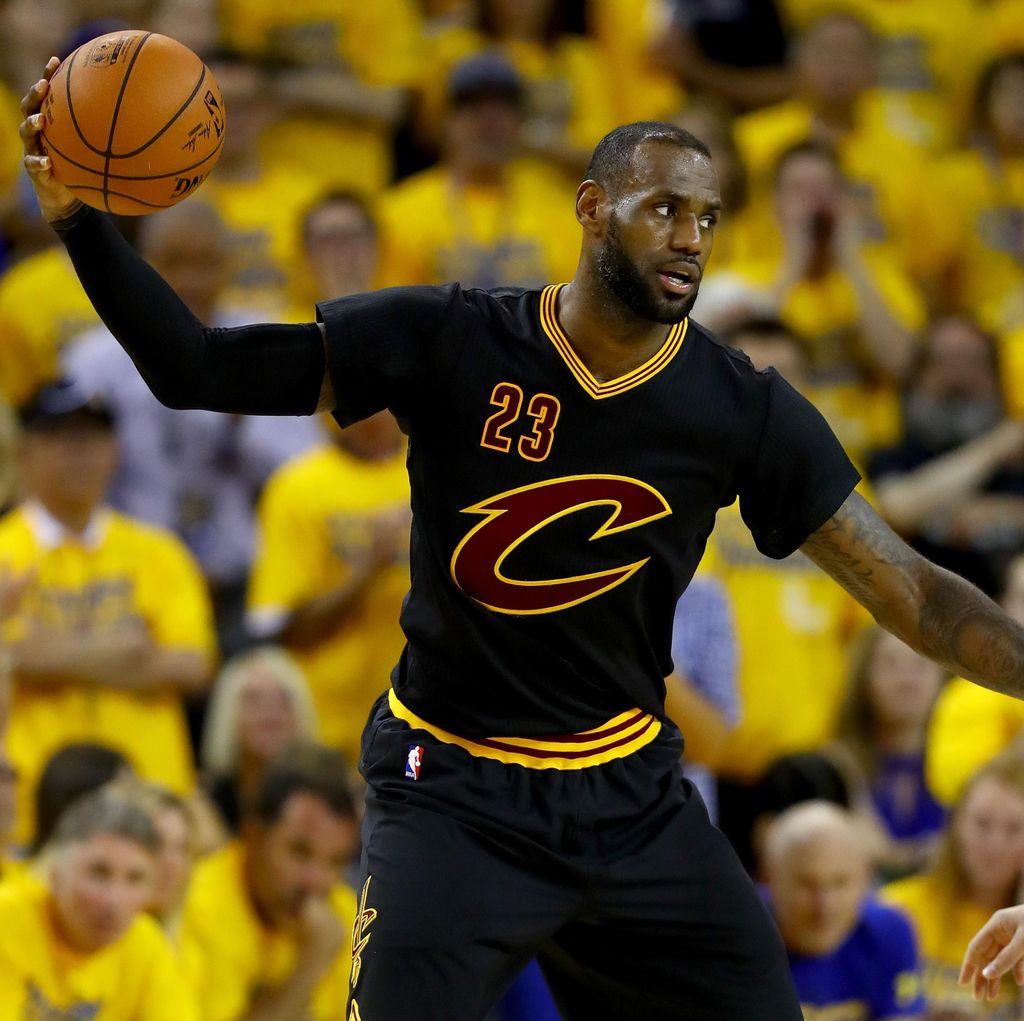 LeBron James Rebut MVP Final