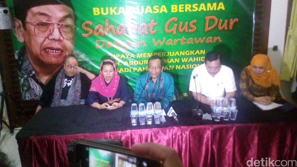 Sahabat Gus Dur Dorong Pemerintah Beri Gelar Pahlawan Nasional Pada Gus Dur