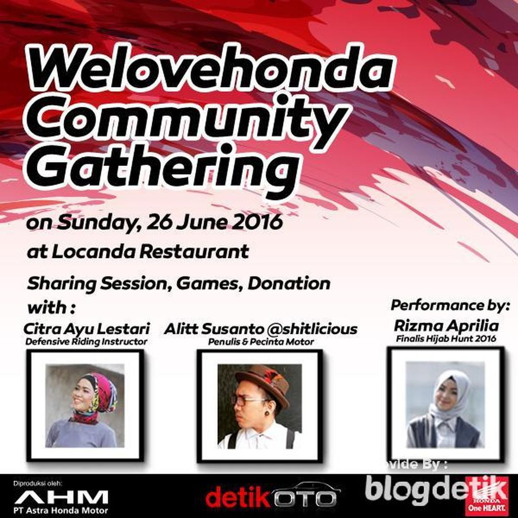 Minggu Ini Komunitas Motor dan Blogger Buka Puasa Bareng @shitlicious
