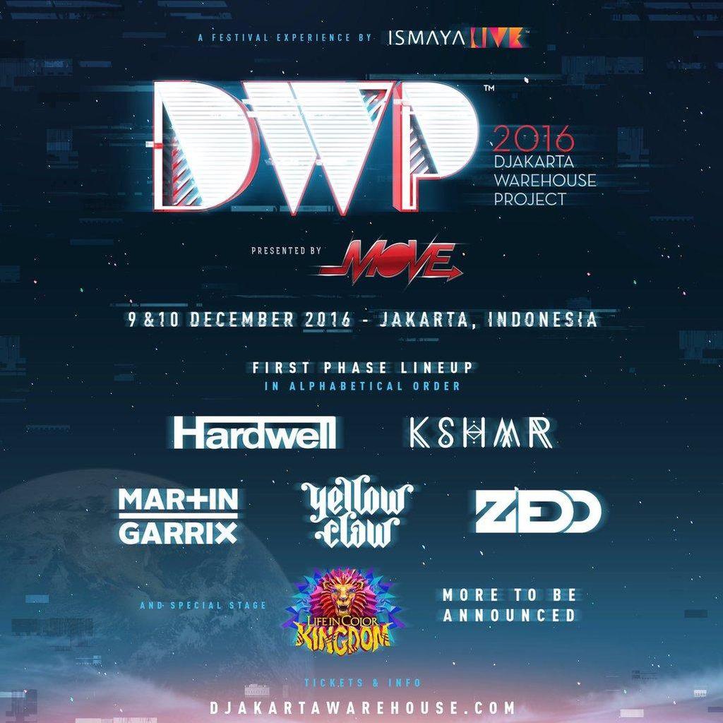 Line Up DWP 2016 Terus Bertambah, Bakal Heboh Banget!