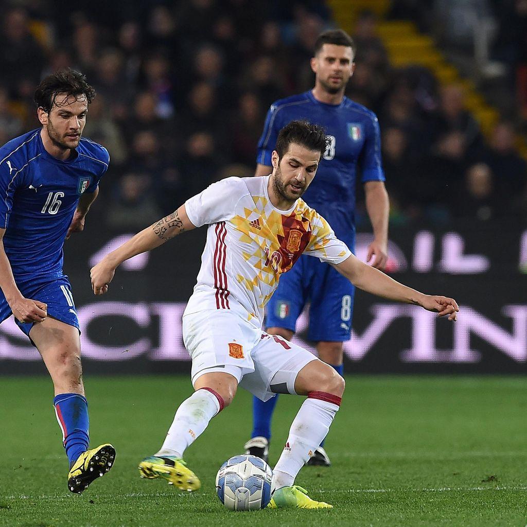 Fabregas: Italia Lawan Berat yang Berpengalaman