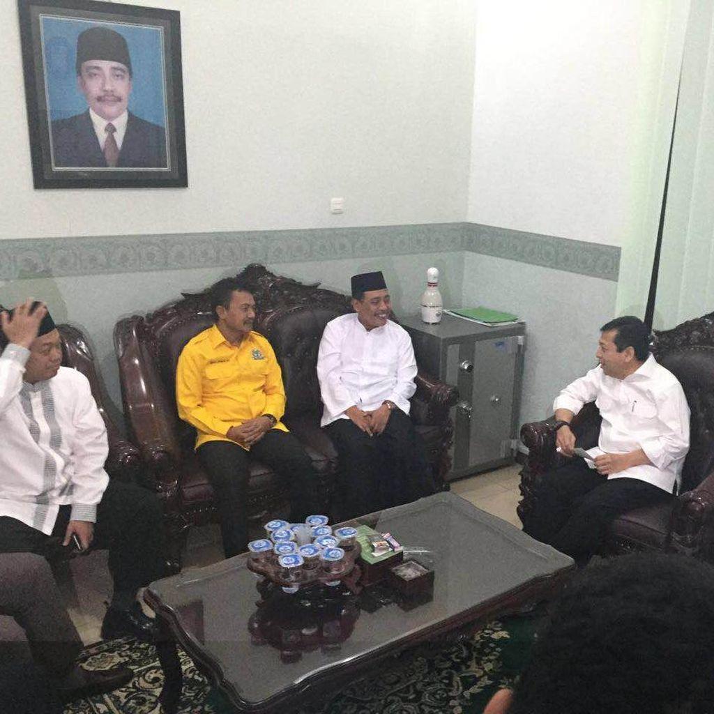 Safari Ramadan di PWNU Jatim, Novanto Kenang Masa Muda di Surabaya