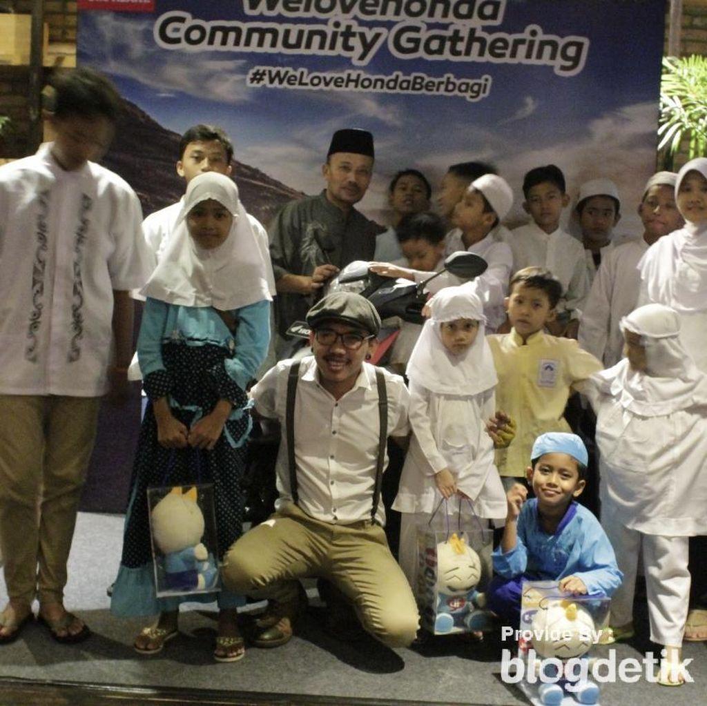 Berbagi Kasih di Bukber Bersama Community Gathering Welovehonda