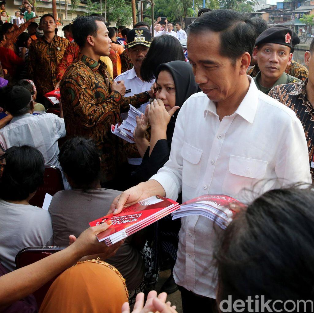 Tiket Eksklusif Jokowi ke Pilpres 2019