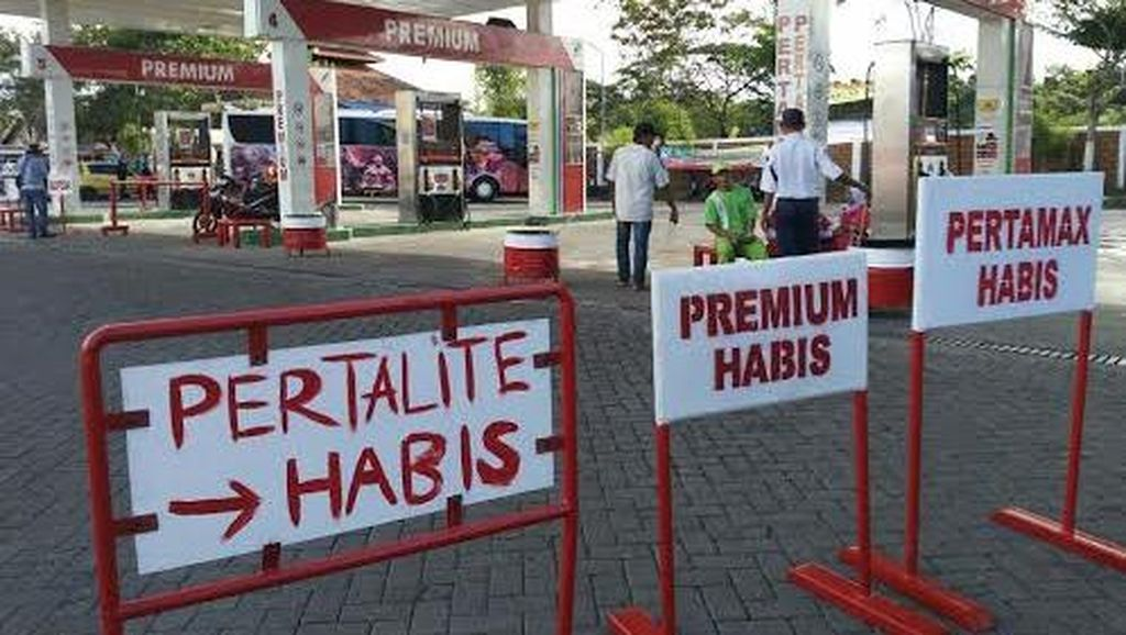 H-5, SPBU di Probolinggo Kehabisan Stok BBM Jenis Premium dan Pertalite