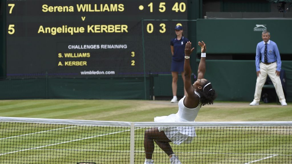 Serena Juara, Samai Rekor Grand Slam Graf