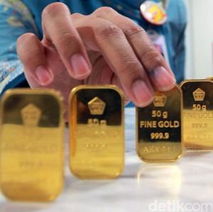 Harga Emas Antam Naik Rp 1.000/Gram