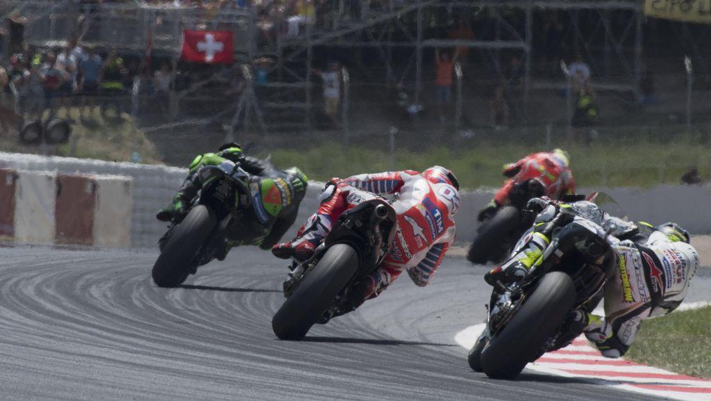 Pebalap MotoGP Dilengkapi Airbag Mulai 2018