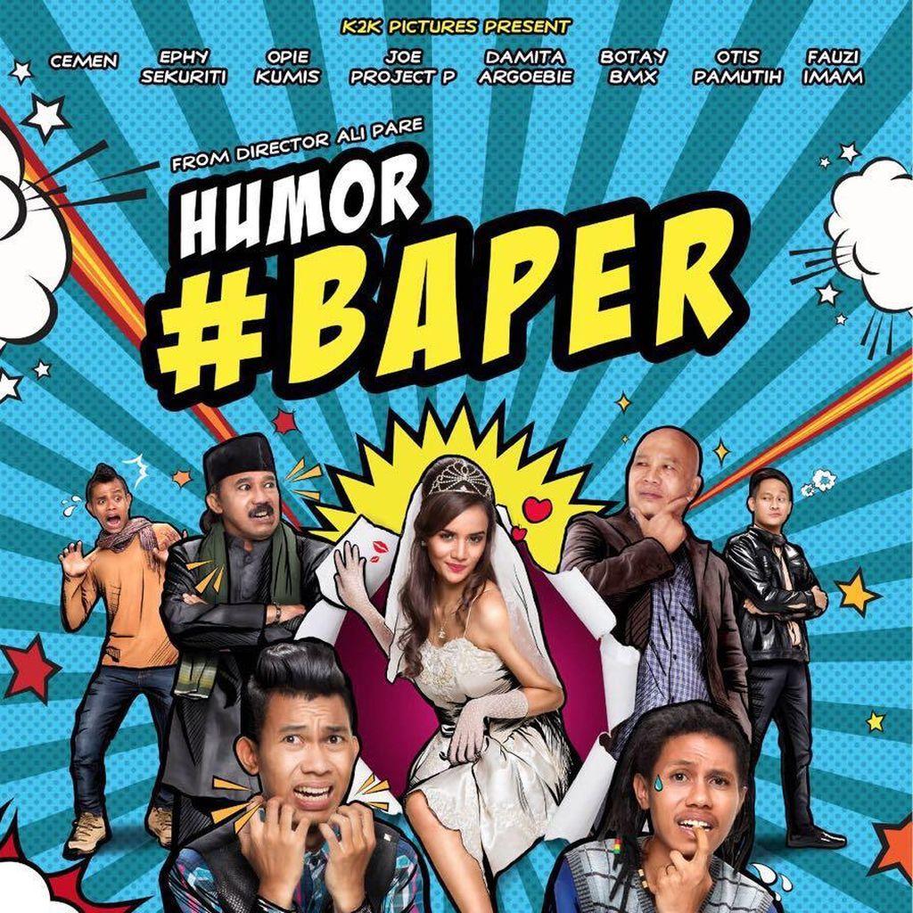 Film Humor Baper Rilis Poster