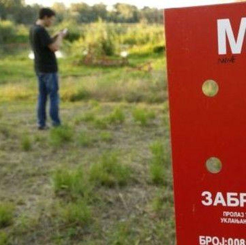Bosnia: Jangan Main Pokemon Go di Ladang Ranjau