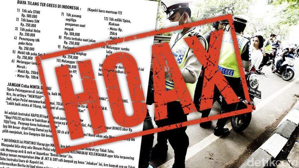 Penyebar Berita Hoax Kapolri Tito Bisa Dijerat UU ITE