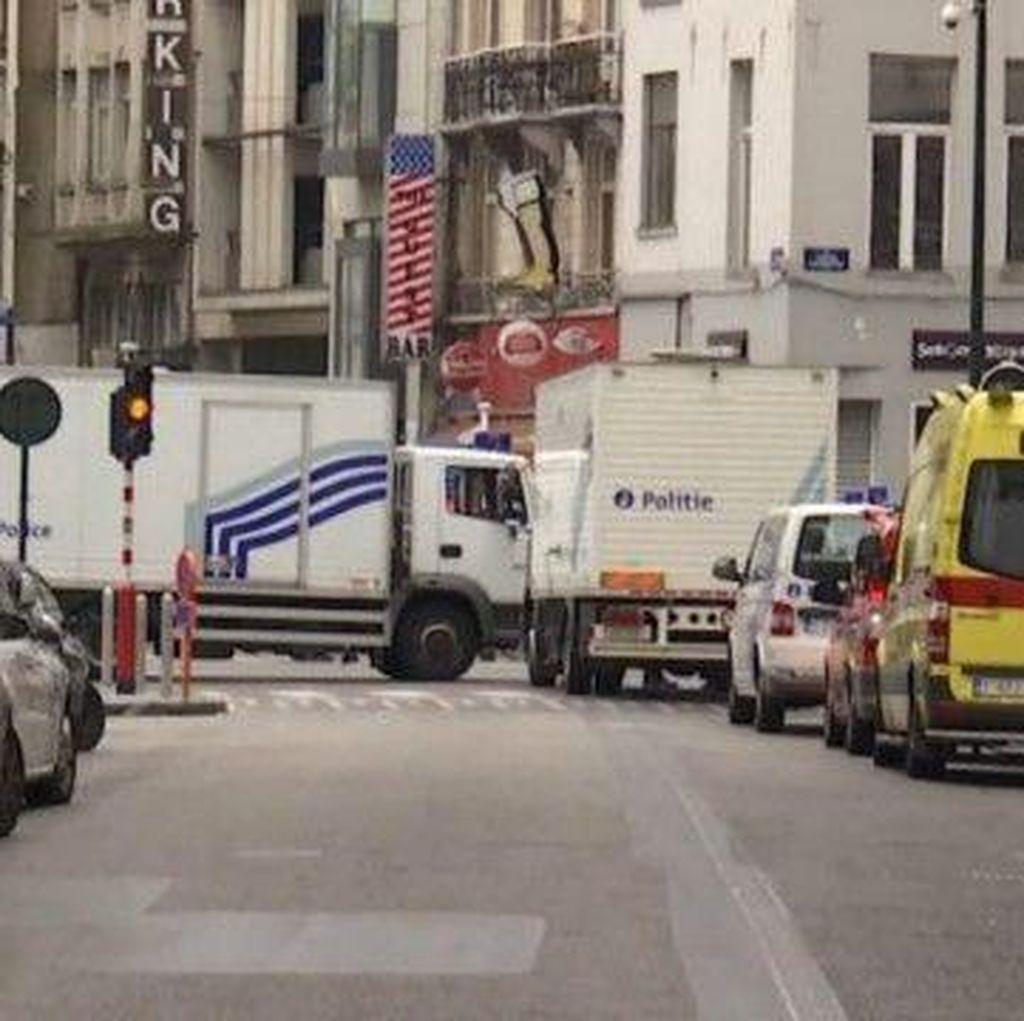 Seorang Pria di Brussels Dikepung karena Mencurigakan