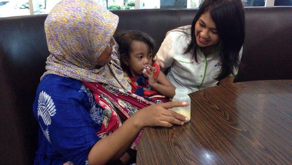 Ibu Balita Jantung Bocor Tolak Bantuan, Pertamina: Kami Tetap Bantu