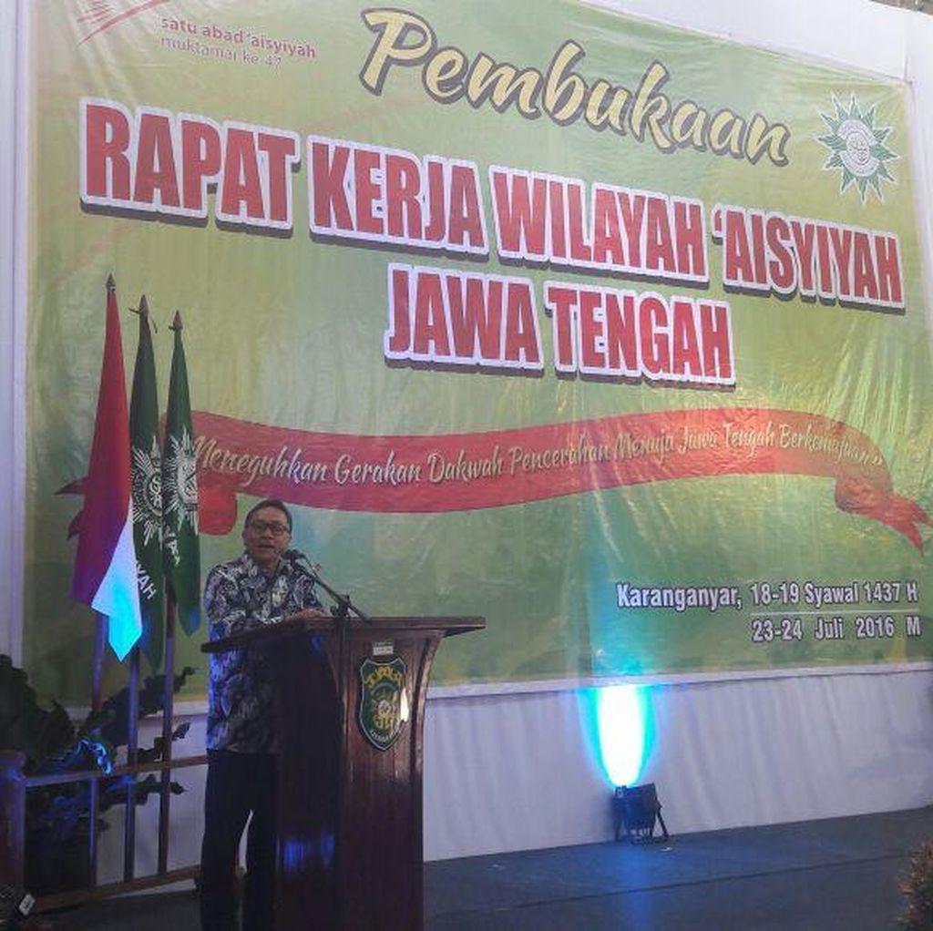 Buka Rakerwil Aisyiyah Jateng, Ketua MPR: Banyak Pejabat Tak Pancasilais