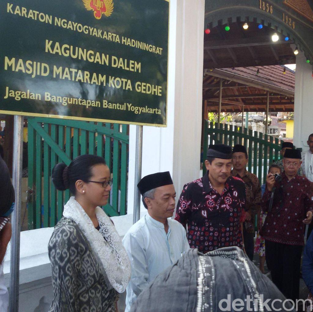 Banyak yang Berubah Namanya, Masjid Kagungan Dalem Keraton Yogyakarta Dipasangi Tanda