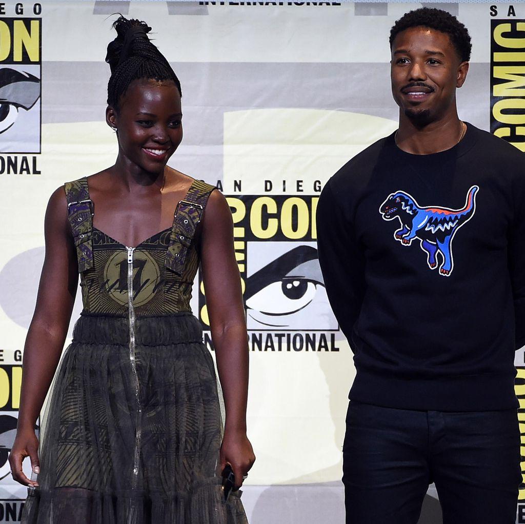 Michael B Jordan hingga Lupita Nyongo Resmi Bintangi Black Panther