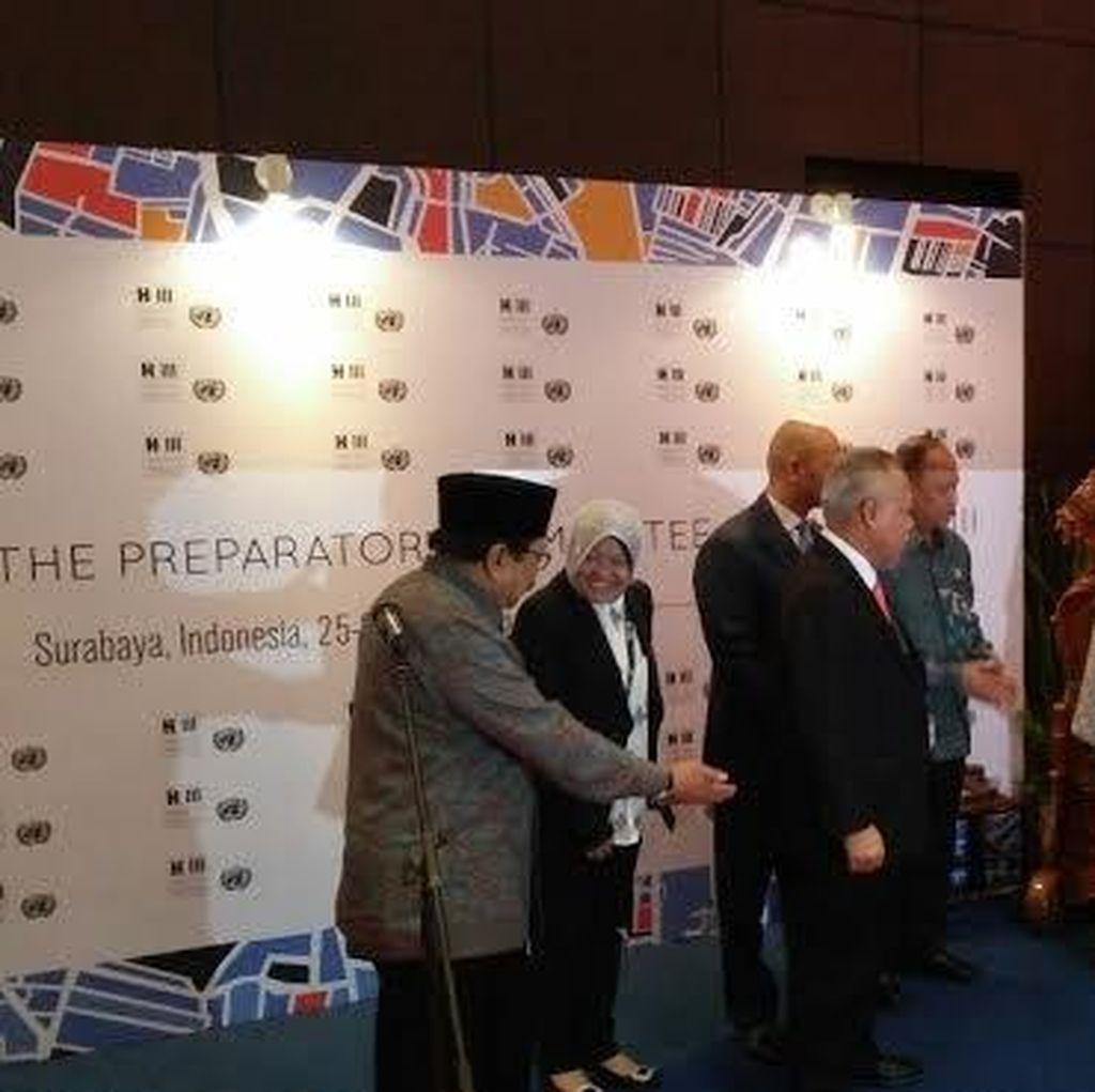 Prepcom3 Usai, Sekjen UN Habitat Ucapkan Terima Kasih Pada Warga Surabaya