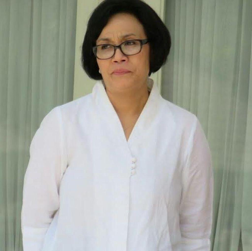 Mimik Wajah para Menteri Baru di Istana: dari Sri Mulyani Hingga Wiranto