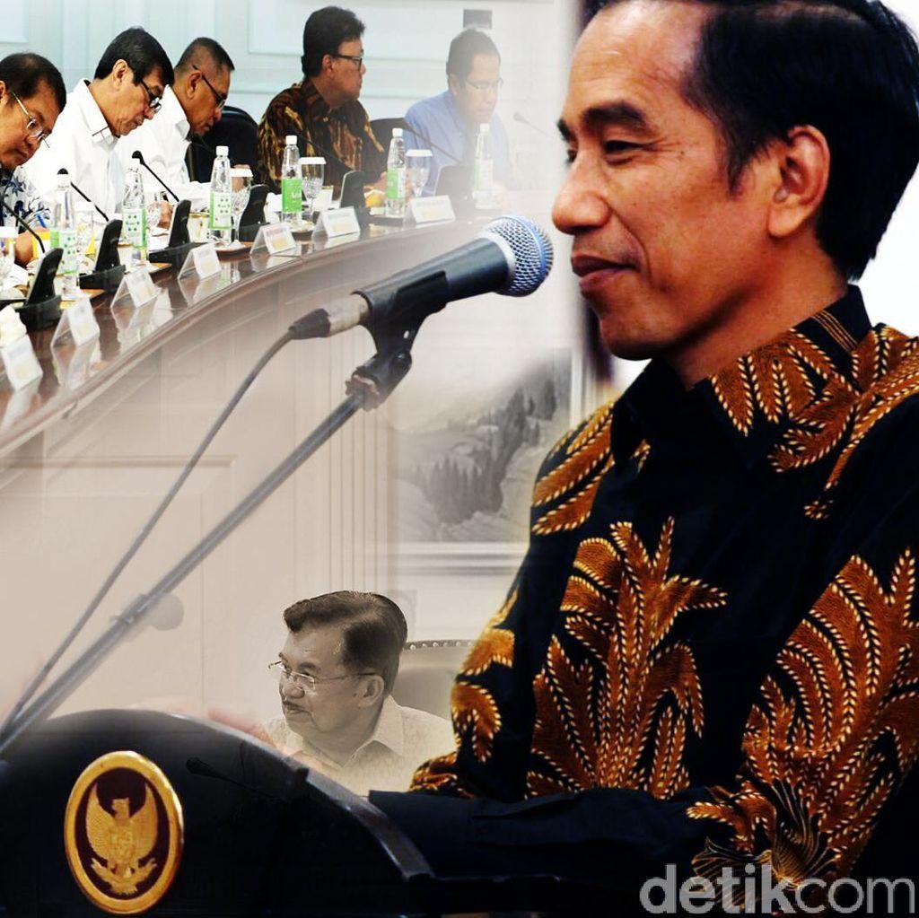 Jokowi Panggil Calon Menteri Baru Sebelum Melantik Pukul 13.30 WIB
