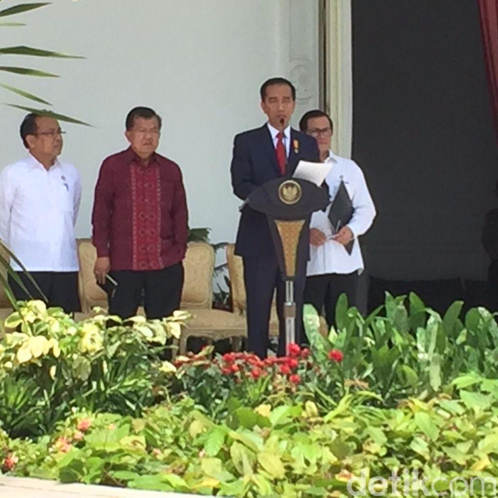 Jokowi: Reshuffle untuk Penguatan Kinerja Kabinet