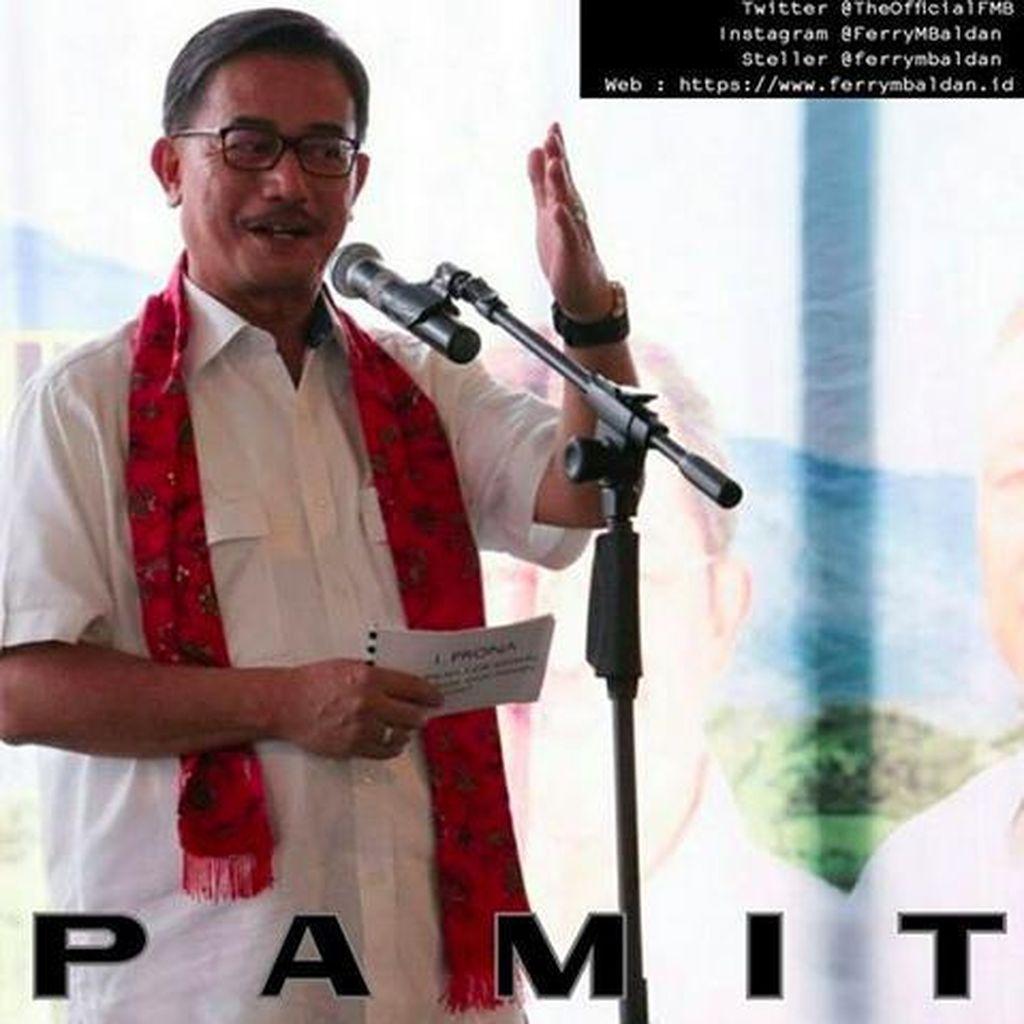 Ferry Mursyidan Baldan Pamit: Maaf dan Terima Kasih