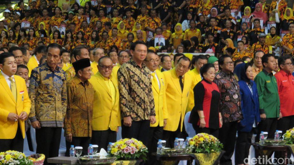 Dorong Ukhuwah Parpoliyah, Golkar Capreskan Jokowi Tanpa Melihat Parpol Asalnya