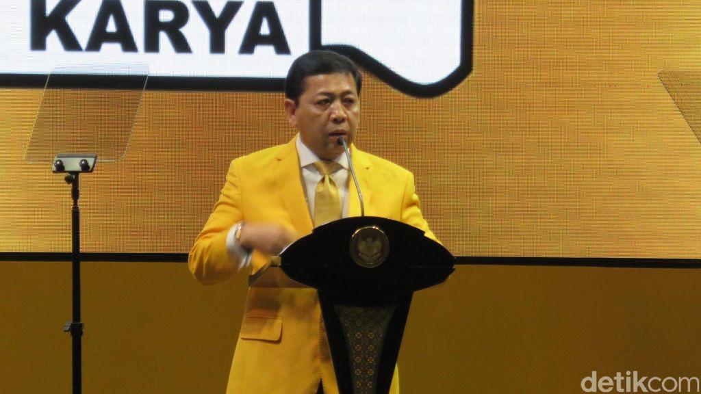 Hadapi Pilkada 2017, Novanto Minta Kader Golkar Jauhi Korupsi