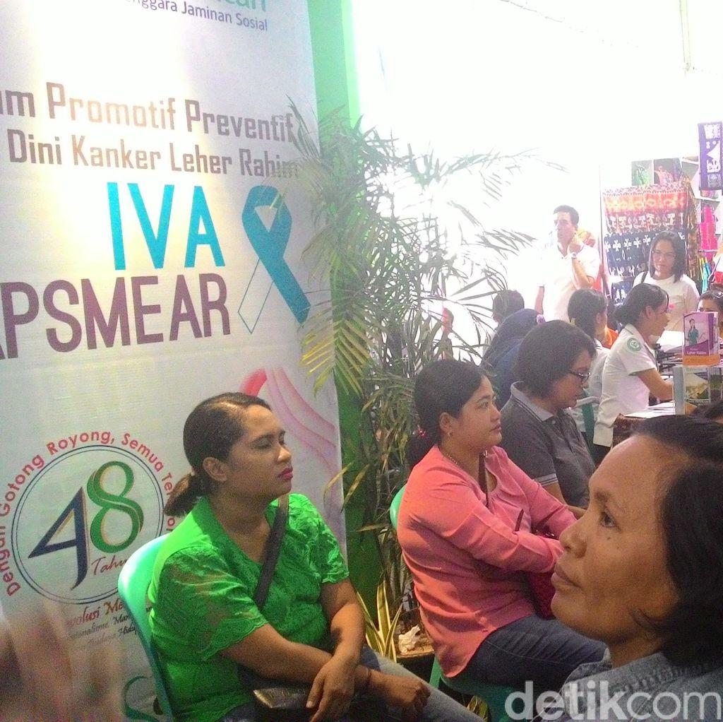 Cegah Kanker Serviks, Pekerja Wanita di Sidoarjo akan Jalani Tes IVA