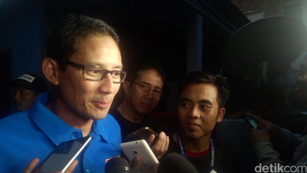 Sandiaga: Ahok Tak Ngerti  Tax Amnesty