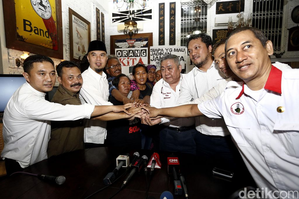 Ahmad Dhani Deklarasi Dukung Duet Rizal Ramli Sandiaga Uno Maju