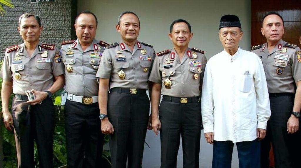 Di Yogya, Kapolri Jenderal Tito Temui Buya Syafii Maarif