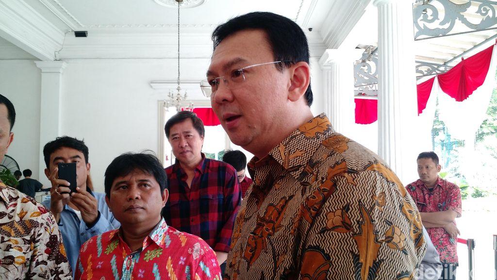 Bertemu Ahok, Wali Kota Jakbar Enggan Komentar Soal Sebutan Centeng