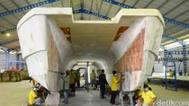 Keren! Kapal Pemburu Teroris Made in Banyuwangi Dipakai Rusia
