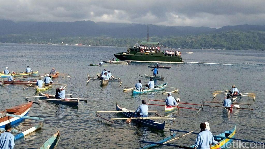 Lomba Mancing dan Bersihkan Laut Meriahkan Perayaan HUT RI di Ambon