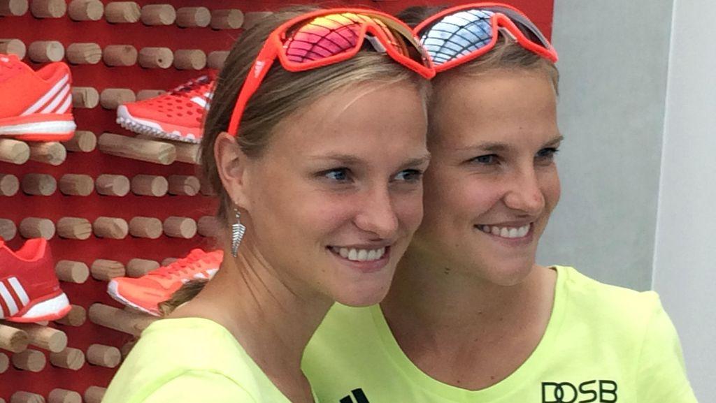 Pelari-Pelari Kembar di Lintasan Maraton Olimpiade Rio