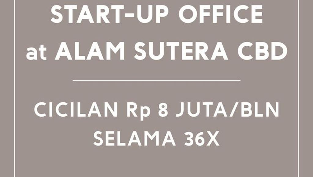 The Smith at Alam Sutera - Home of Start Up Companies
