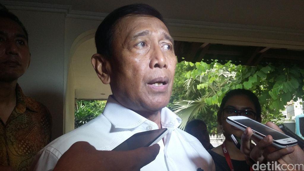 Sowan ke Petinggi Partai Politik, Wiranto: Biar Kondisi Negara Tenteram