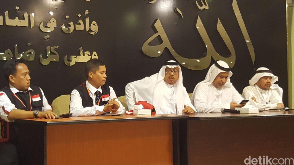 Sambutan dari Keluarga Sedarah di Muassasah Untuk Jemaah Haji Indonesia