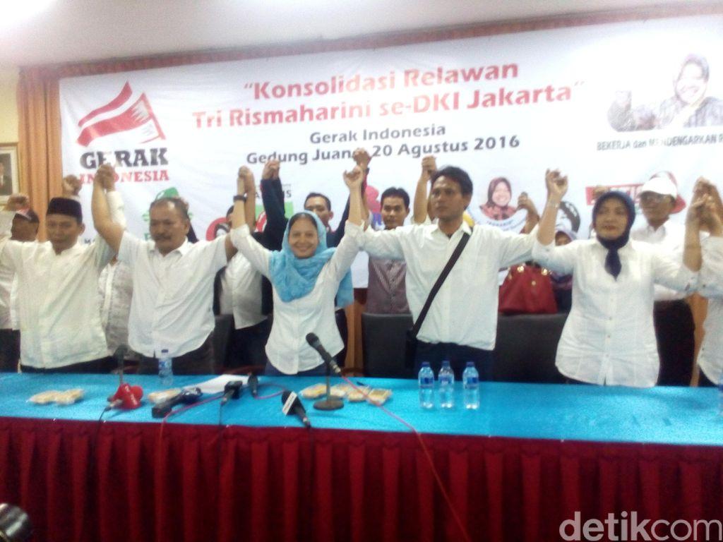 Gerak Indonesia Dukung Risma karena Ahok Dianggap Sering Gusur Rakyat Kecil
