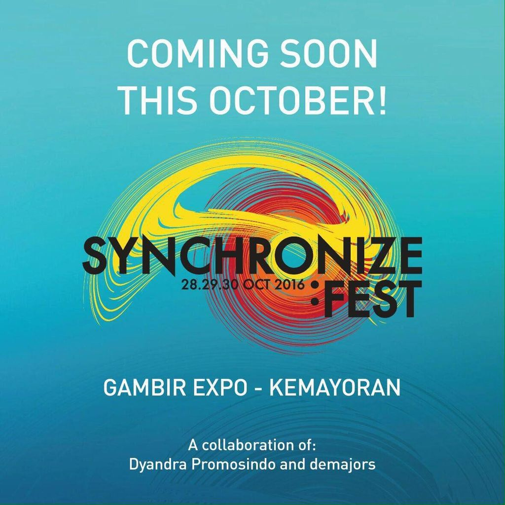 Synchronize Fest, Gelaran Musik Lokal yang Akbar dan Mengguncang