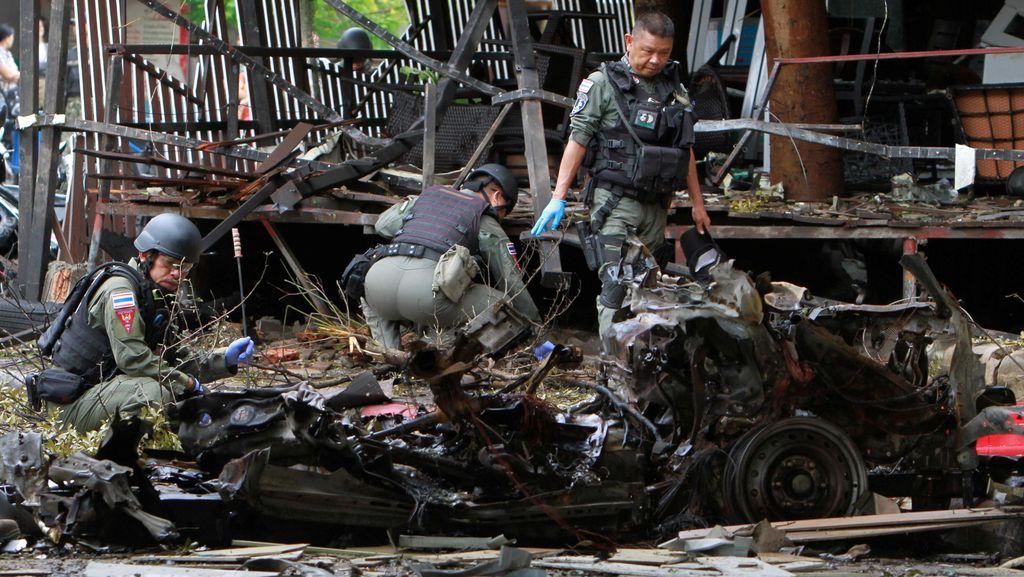 Bom Meledak di Pattani Thailand, 1 Orang Tewas dan 18 Luka