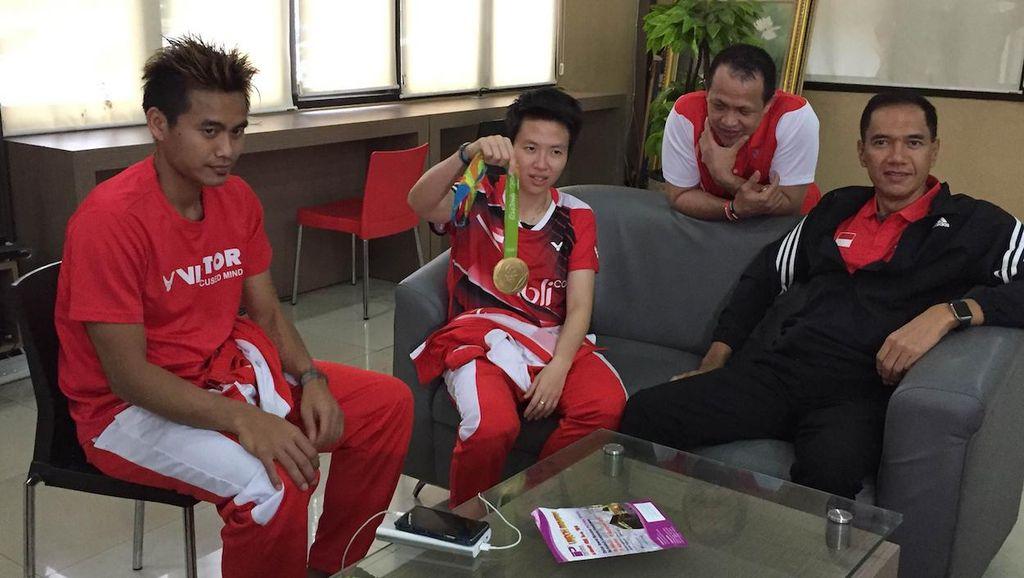 Ketua PBSI: Emas di Rio Mesti Jadi Inspirasi bagi Semua Atlet