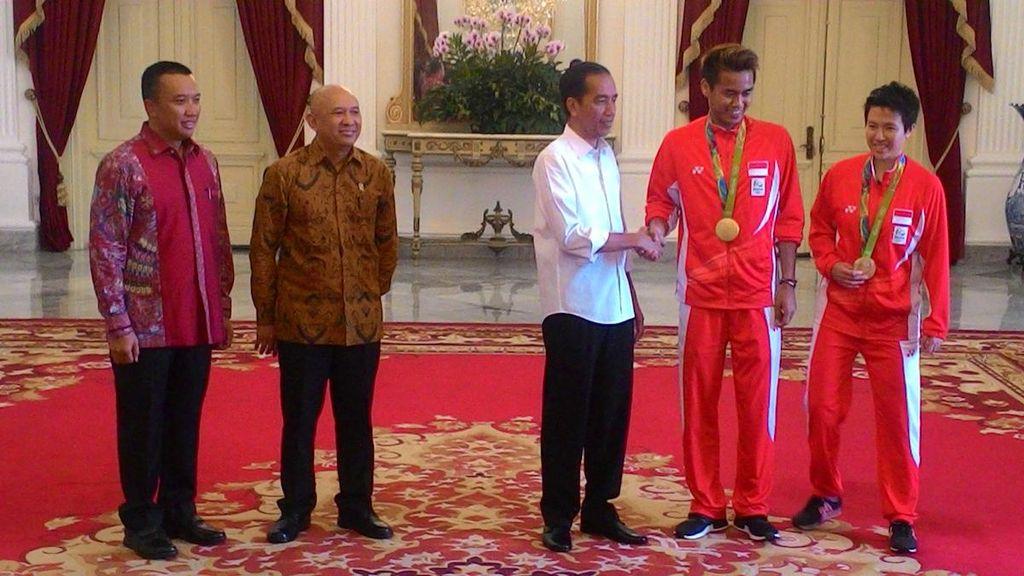 Liliyana Bangga Dipilih Jadi Pembaca Teks Sumpah Pemuda di Istana Negara