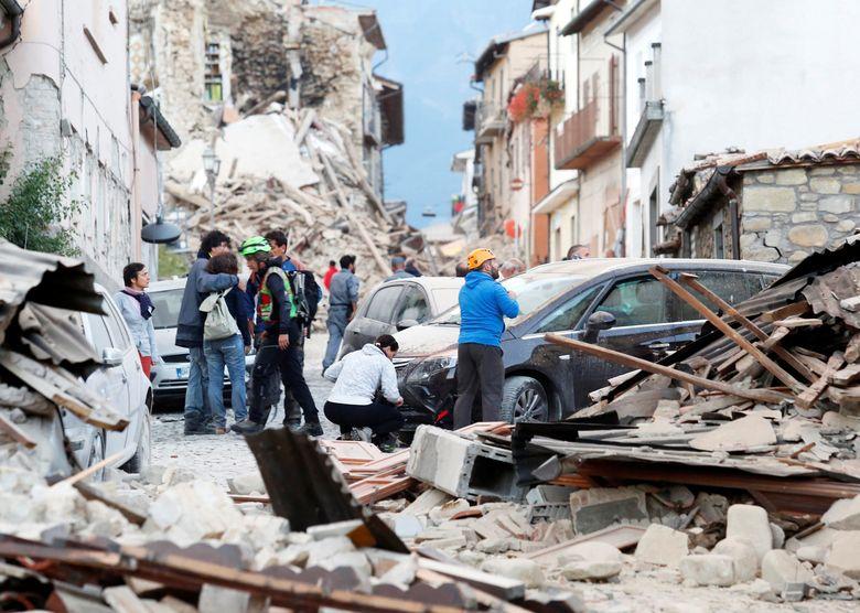 Gempa Bumi Kembali Guncang Italia