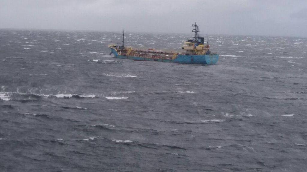 TNI AL Berhasil Tangkap MT Vier Harmoni di Perairan Kalimatan Barat